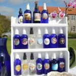 Well Being Essences, Tester Rack in 100 ml or 50 ml bottles. For Spa's therapy rooms, Hotels, Shops & Hospitals.