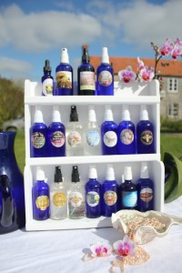 The Collection of Well Being Essences available as Tester rack in shops and Treatment rooms, Spa's, Health Centres & Health Shops. & Hotels.
