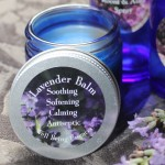 Soothing, Anteseptic, Softening Natural Lavender real infused Balm.