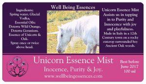 Unicorn Essence Mist . Purity Innocence and Joy